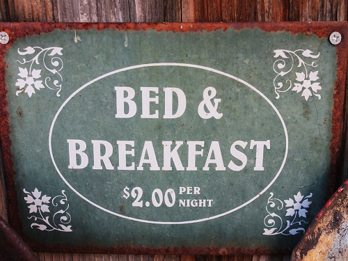Reis voorbereiden bed en breakfast